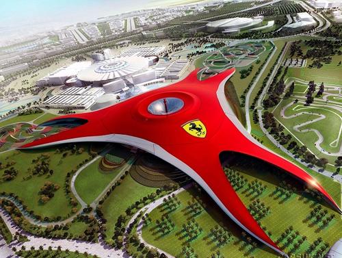 Ferrari World Ֆերրարի ՈՒորլդ